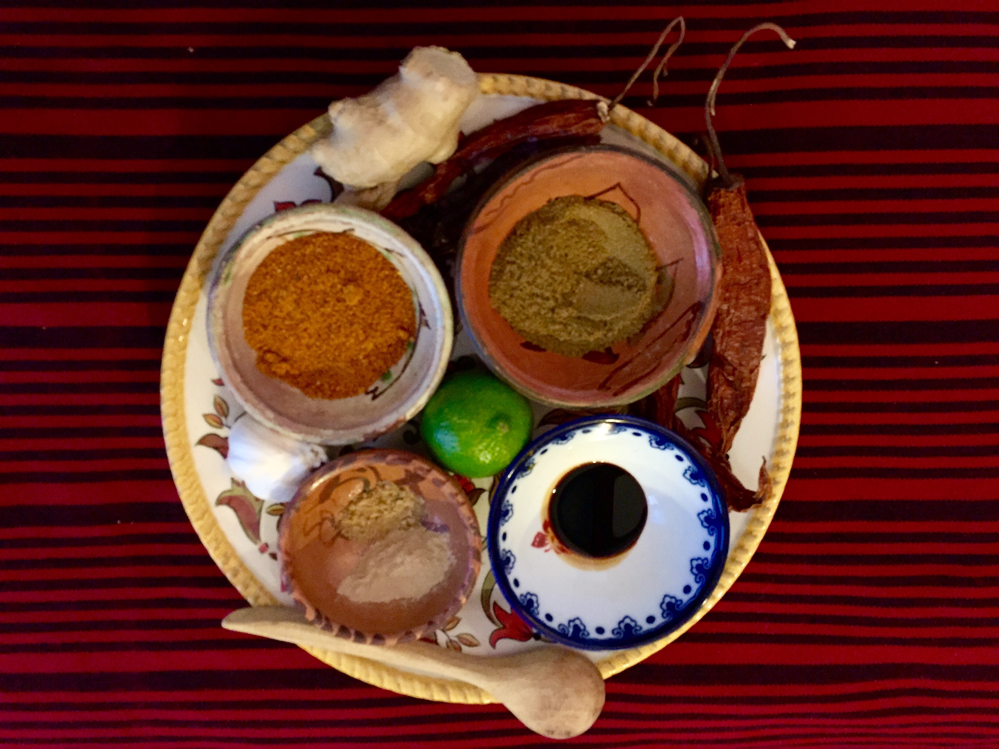 Seasonings for Cusco Spice Blend (David Knowlton)