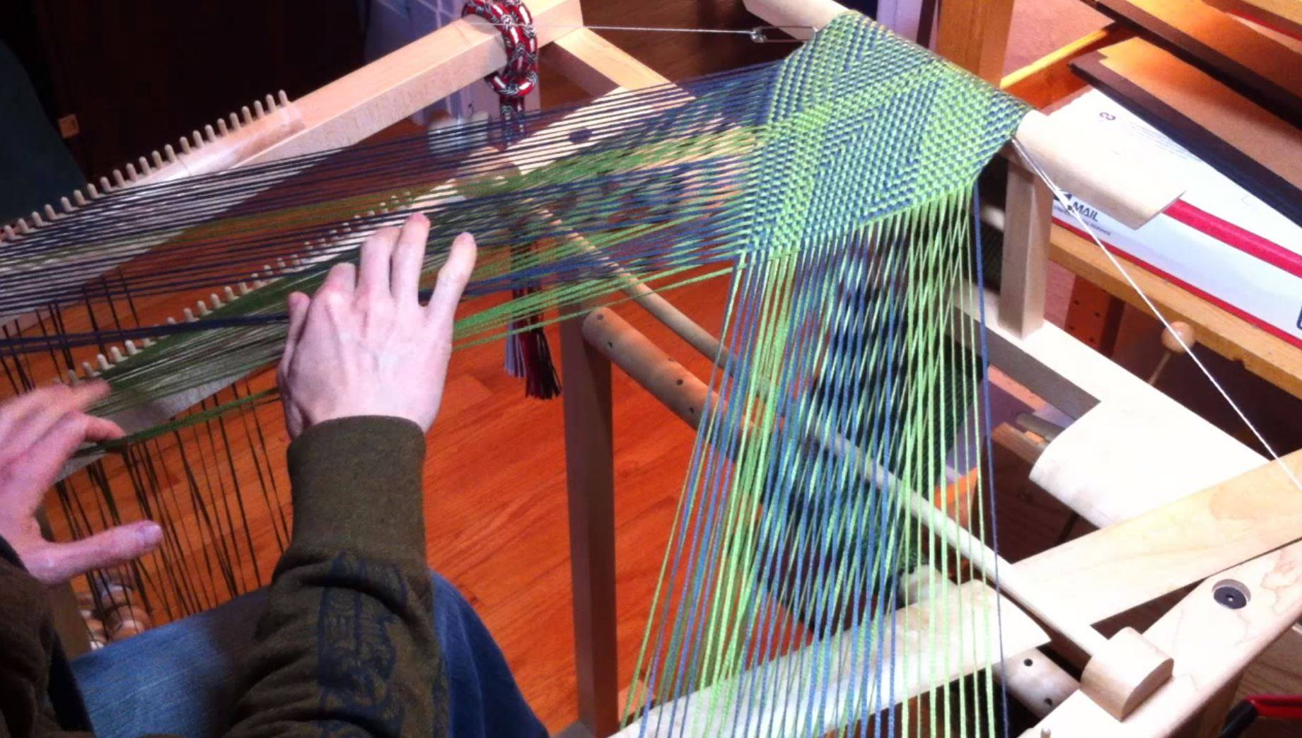Flat Braid Loom